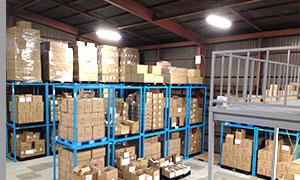 様々な要望、条件、商品にお応え出来る最適な倉庫管理